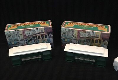 VTG 1974 Avon CABLE CAR WILD COUNTRY & AVON LEATHER -NEW OLD STOCK
