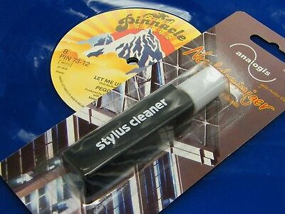 ♫ BRUSH + PRODUCT STYLUS CLEANER VINYL RECORD 20 ml NEW ♫