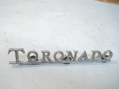 Old Metal Car Emblem Toronado