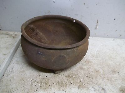 Lot D Rusty Rough Old Cream Separator Strainer Bowl Flower Pot Garden Planter