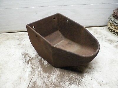 Old Cast Iron Windmill Water Trough for Flower Poy Garden Planter Lot C