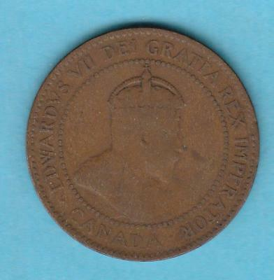 1907 Canada Large Cent w/ Edward VII- better date, inv#7297