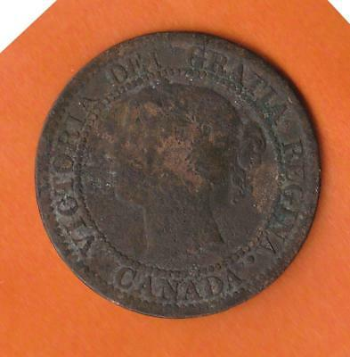1859 Canada Large Cent w/ Queen Victoria, inv#7189