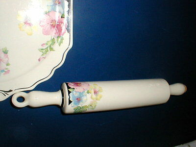 Harker Pottery MALLOW Hotoven Art Deco Rolling Pin RARE