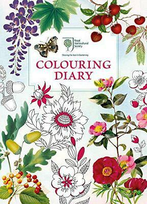 RHS Colouring Diary by RHS | Paperback Book | 9781782436416 | NEW