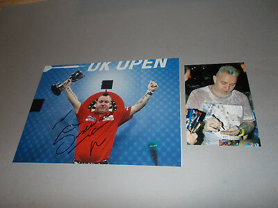 Peter Wright Dart  signiert signed autograph Autogramm auf 20x28 Foto in person