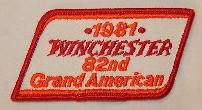 1981 Winchester 82nd Grand American Shooting Trap Advertising Patch