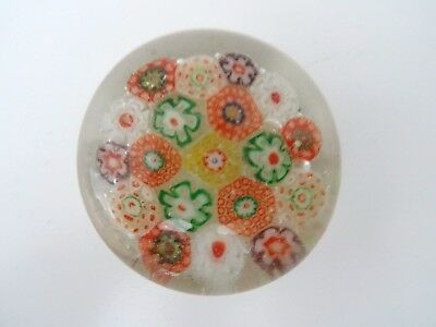 Antique Made in China GLASS MILLEFIORI Paperweight Packed