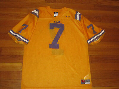 hot sale online c1441 6a536 NIKE LSU TIGERS Football Jersey Boys Large 14-16 Excellent Condition