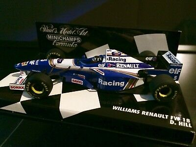 Williams FW18 / Damon Hill / Saison 1996 / Minichamps 1:43