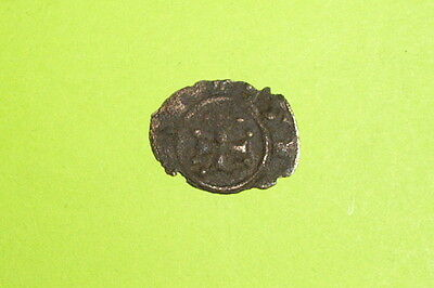 MEDIEVAL COIN of KING MANFRED 1258 AD-1266 AD m cross MESSINA SICILY g old