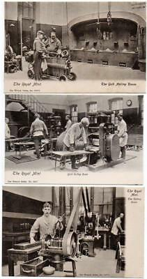 6   LONDON ROYAL MINT   Excellent condition Wrench Postcards