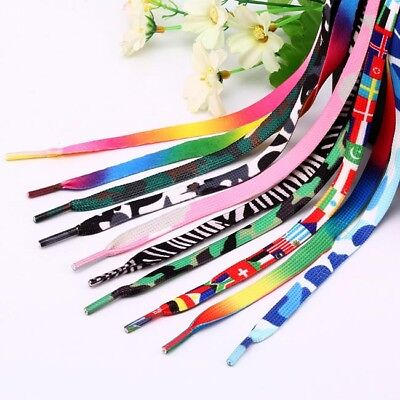Unisex Rope Multi Color Waxed Round Cord Dress Shoe Laces Colourful Shoelace