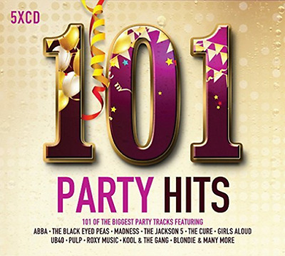 Various Artists-101 Party Hits  (UK IMPORT)  CD NEW