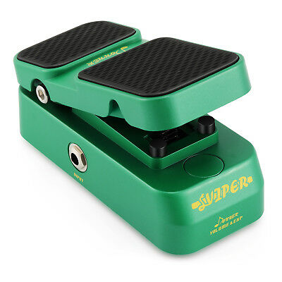 Donner 2 in 1 Viper Mini Passive Volume Expression Guitar Effect Pedal Best