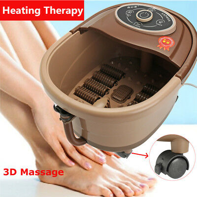 Infrared Foot Spa Vibration Bubble Foot Massager Foot Bath Heating Therapy 2018