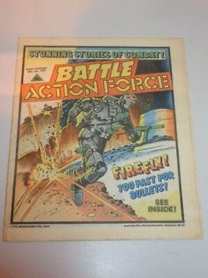 Battle Action Force British Weekly Ipc 20Th July 1985^