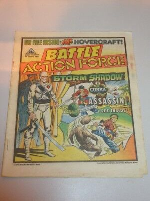 Battle Action Force British Weekly Ipc 5Th October 1985^