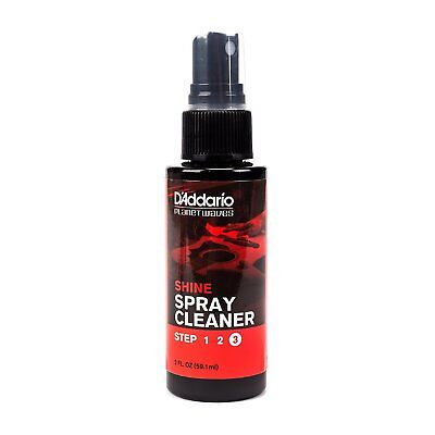Planet Waves 'Shine' - Instant Guitar Spray Cleaner. P/No:PW PL 03S 59.1ml