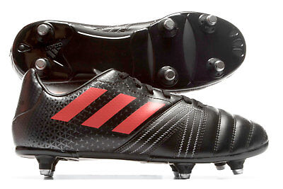 adidas New Zealand All Blacks Kids SG Rugby Boots Sports Shoes Studs Black