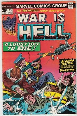 War Is Hell # 13 strict VF/NM appearance Death!