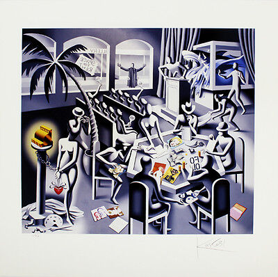 MARK KOSTABI The impossibility of death in the mind of a cash register