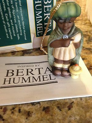 New In Box Very Cute Berta Hummel Melchior Ornament Free Shipping