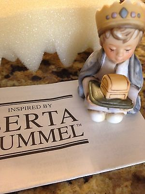 New In Box Very Cute Berta Hummel Balthazar Ornament With Free Shipping