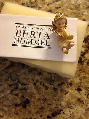 New In Box Very Cute Berta Hummel Heavenly Chorus Ornament Free Shipping