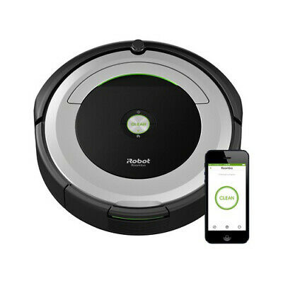 Roomba 690 Wi-Fi Connect Robotic Vacuum Programmable Cleaner Clean From Anywhere