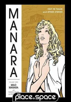Manara Library Vol 03 Trip To Tulum And Other Stories - Softcover