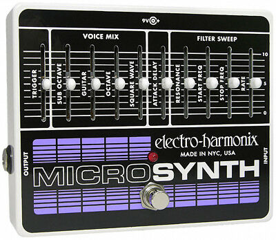 Electro Harmonix Microsynth Effects Pedal (NEW)