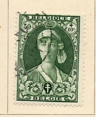 Belgium 1931-32 Early Issue Fine Used 50c. 215026