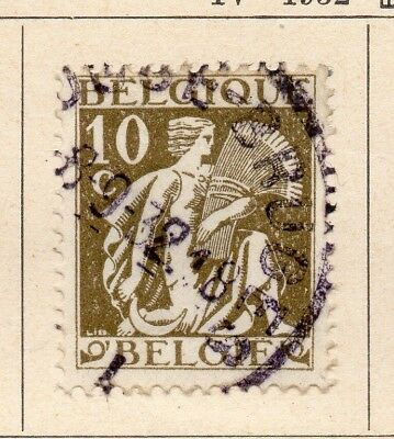 Belgium 1932 Early Issue Fine Used 10c. 215032