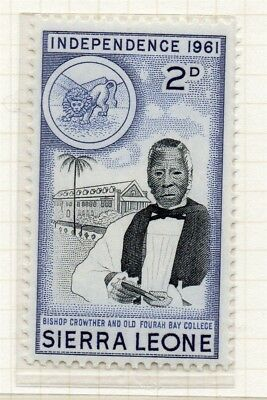 Sierra Leone 1961 Early Issue Fine Mint Hinged 2d. 215190