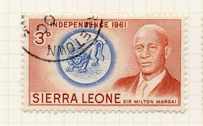 Sierra Leone 1961 Early Issue Fine Used 3d. 215204