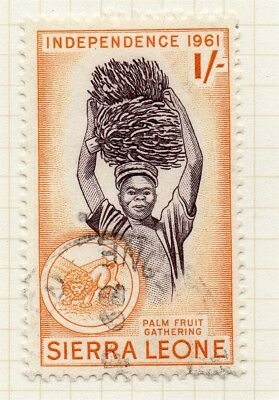 Sierra Leone 1961 Early Issue Fine Used 1S. 215207