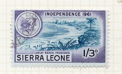 Sierra Leone 1961 Early Issue Fine Used 1S.3d. 215208