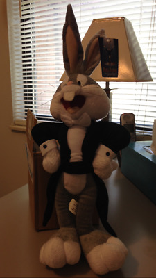 Limited Edition Rare Bugs Bunny At The Symphony Plush Warner Brothers