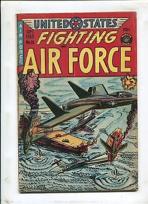"Us Fighting Air Force #16 - ""fighting Mad!"" - (4.5) 1955"