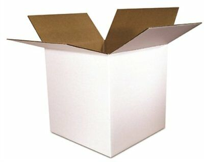 Shipping Boxes White Corrugated Cardboard Box SmileMail® Cartons Mailers