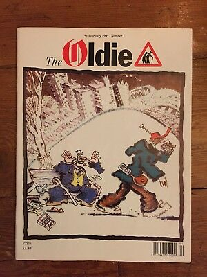 The Oldie Magazine: Issue 1 February 1992 Mint Condition