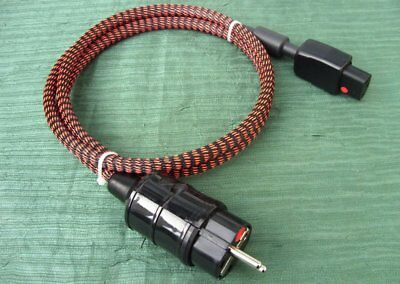 High-End Netzkabel EUPEN EUCAFLEX plus 3 x 1,5  mit FERRIT RING / KERN NEU!