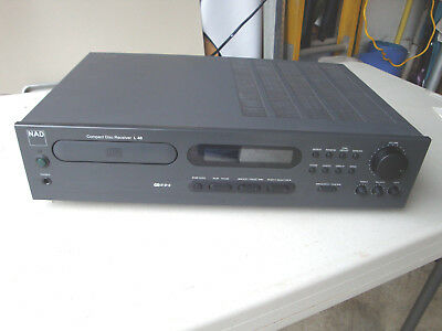 NAD L40 Compact Disc Receiver CD Stereo Amplifier Tuner