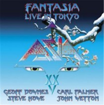 Asia-Fantasia  (UK IMPORT)  CD with DVD NEW