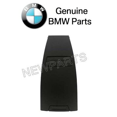 BMW E85 Z4 Black Rear Upper Center Console Trim Panel Cover Genuine 51467055464