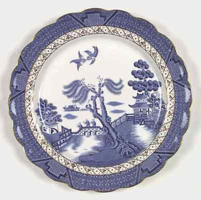 "Booths REAL OLD WILLOW BLUE 9 7/8"" Dinner Plate 6309987"