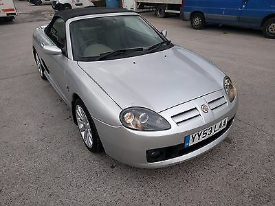 MG TF SUNSTORM 1.6ltr Silver Soft top Spares and Repairs