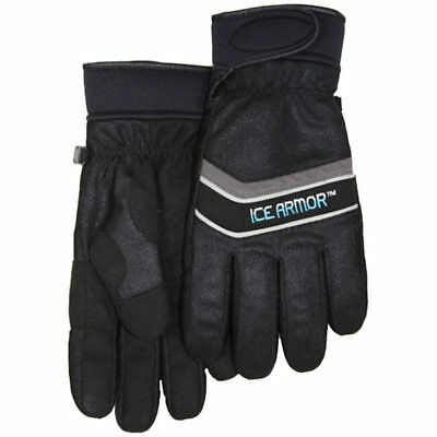 Clam Outdoors Men's IceArmor Edge Gloves with Thinsulate in Black - XL