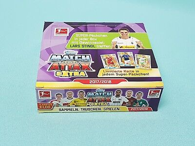 Topps Match Attax Extra 2018 1 x Display / 24 Booster Neu & OVP